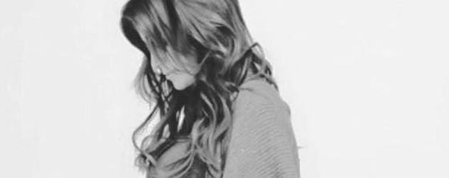 Charlotte Würdig während ihrer zweiten Schwangerschaft
