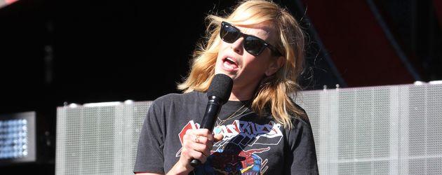 Chelsea Handler im September 2016 beim Global Citizen Festival in new York