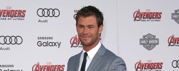Chris Hemsworth auf dem roten Teppich