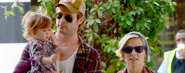 Chris Hemsworth, Elsa Pataky und India Hemsworth