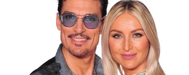 """Chris Töpperwien und Magdalena Kalley bei """"Das Sommerhaus der Stars"""""""