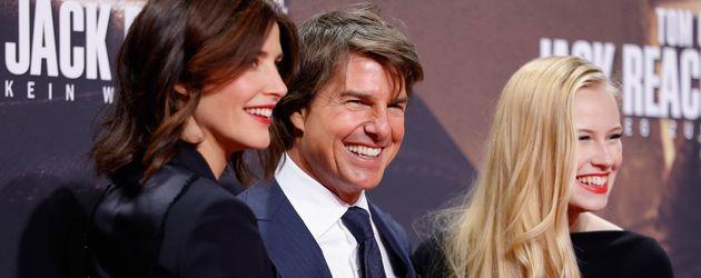 """Cobie Smulders, Tom Cruise und Danika Yarosh auf der """"Jack Reacher 2""""-Premiere in Berlin"""