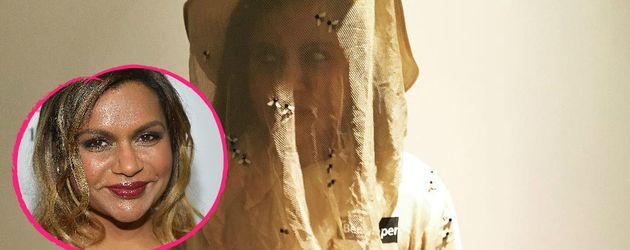 Mindy Kaling als Imker an Halloween