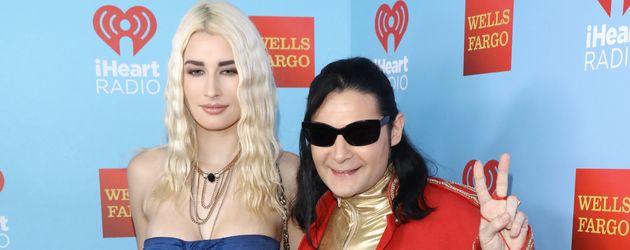 Corey Feldman und seine Freundin Courtney Anne Mitchell