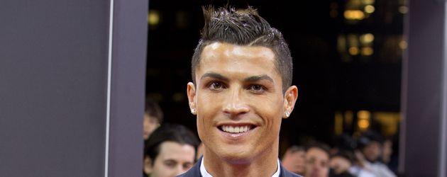 Cristiano Ronaldo beim FIFA Ballon d'Or Gala 2015 in Zürich