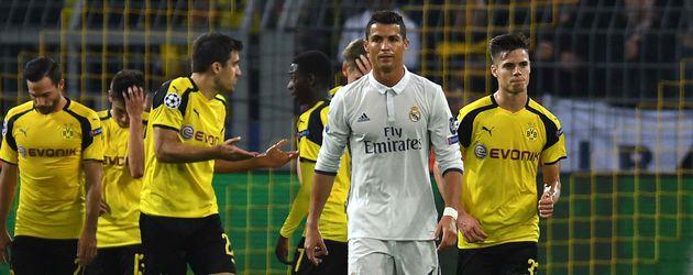 Cristiano Ronaldo während des CL-Spiels Borussia Dortmund gegen Real Madrid