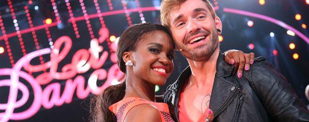 Daniel Küblböck und Otlile Mabuse