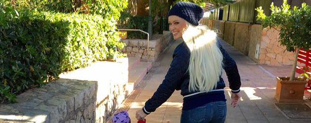 Daniela Katzenberger mit Tochter Sophia auf Mallorca