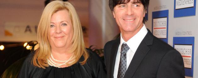 Jogi und Daniela Löw beim Deutschen Medienpreis 2011 in Baden-Baden