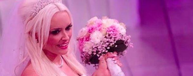 Daniela Katzenberger bei ihrer Hochzeit