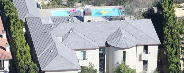 Das Anwesen der Kardashians in Bel-Air