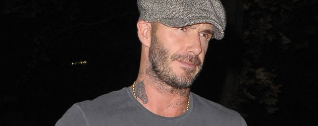 "David Beckham kommt aus dem ""Lucali""-Restaurant in New York"