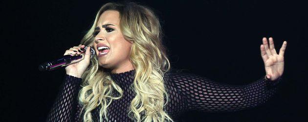 Demi Lovato performt bei Palacio de los Deportes in Mexico