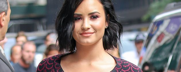 "Demi Lovato auf dem Weg zur ""The Late Show with Stephen Colbert"""