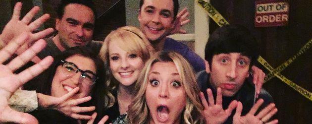 Der Cast von The Big Bang Theory