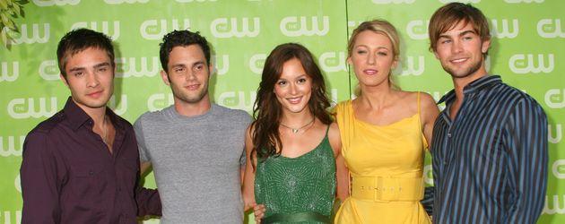 """Der """"Gossip Girl""""-Cast zu Beginn der Serie in 2007"""