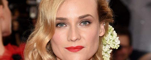 Diane Kruger bei der MET-Gala in New York