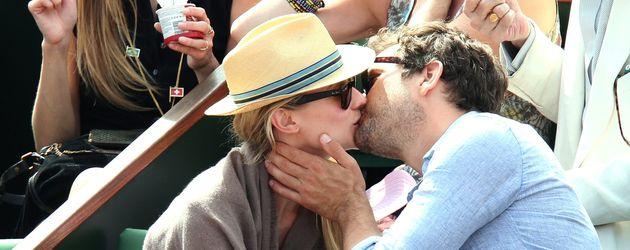 Diane Kruger und Joshua Jackson bei den French Open 2012