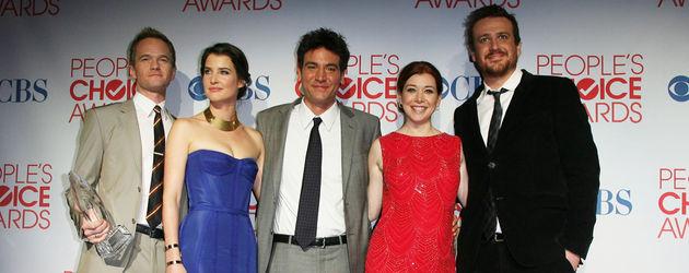 Neil Patrick Harris, Cobie Smulders, Jason Segel, Alyson Hannigan und Josh Radnor