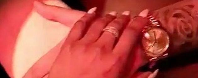 Die Hände von Blac Chyna und Rob Kardashian