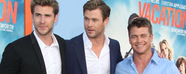 Liam, Chris und Luke Hemsworth