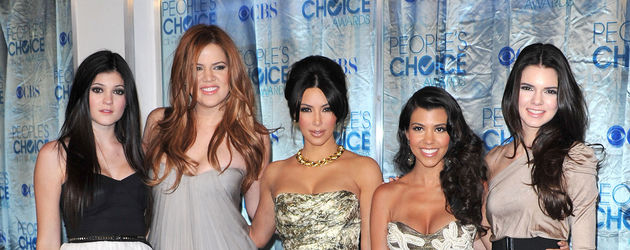 Kim Kardashian, Khloe Kardashian und Kourtney Kardashian