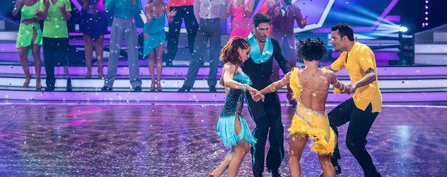 """Die """"Let's Dance""""-Kandidaten in der achten Show"""