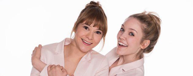 Die Traumfrauen der 13. Staffel: Rebecca Herz (Julia Alice Ludwig) und Ella Kessler (Victoria Reich)