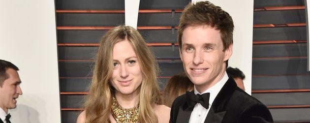 Eddie Redmayne und Hannah Redmayne bei den Oscars 2016