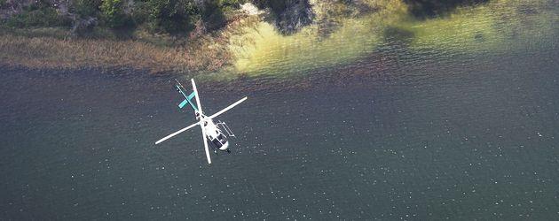 Mit Hubschraubern wurde nach dem Jungen gesucht