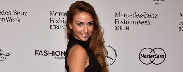 Ekaterina Leonova bei der Berliner Fashion Week