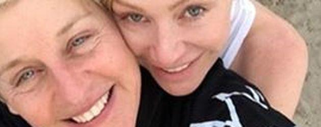 Talkmasterin Ellen DeGeneres und ihre Ehefrau Portia de Rossi