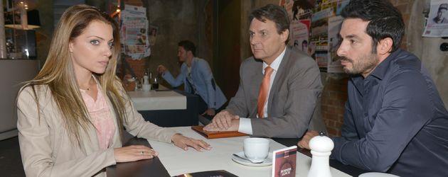 Tayfun Baydar, Wolfgang Bahro und Anne Menden