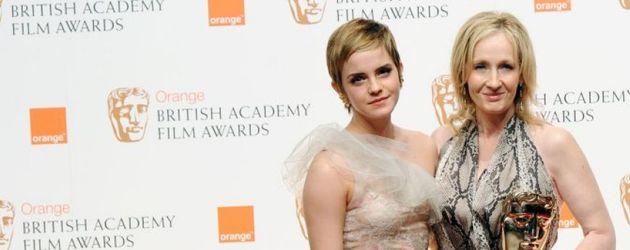 J.K. Rowling und Emma Watson