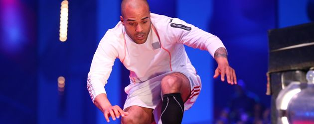 "Ex-Nationalspieler David Odonkor bei ""Ninja Warrior Germany"""