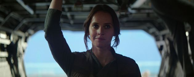 "Felicity Jones in ""Rogue One – A Star Wars Story"""