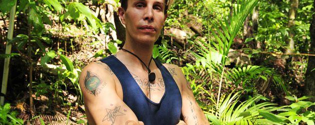 Florian Wess im Dschungelcamp