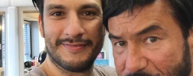 """Francisco Medina (l.) und Silvan-Pierre Leirich, """"Alles was zählt""""-Schauspieler"""