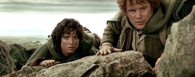"""Elijah Wood und Sean Astin in """"Herr der Ringe"""""""