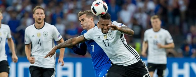 Fussball-EM 2016: Spielszene aus dem Halbfinale Deutschland gegen Frankreich