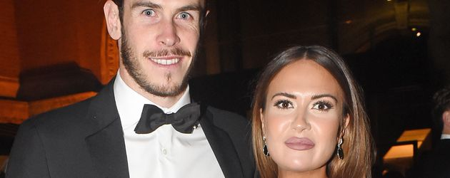 Gareth Bale und seine Freundin Emma Ryhs Jones in London