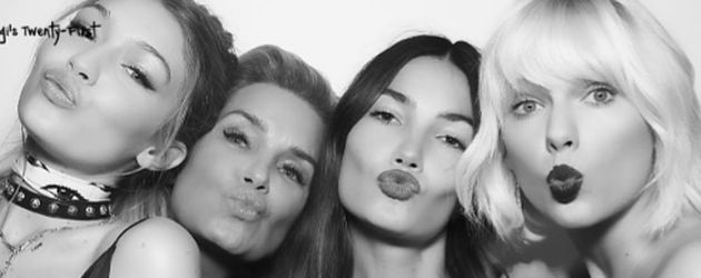 Gigi Hadid, Taylor Swift und Lily Aldridge