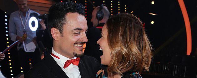 """Giovanni Zarrella und Jana Ina Zarrella bei """"Let's Dance"""" 2017"""