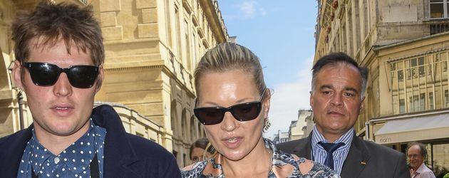 Graf Nikolai von Bismarck und Kate Moss