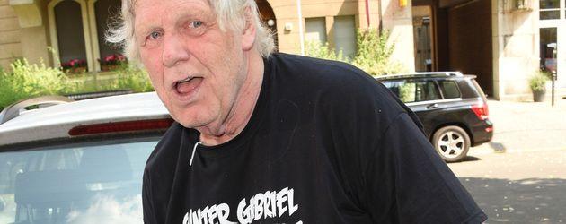 Musiker Gunter Gabriel