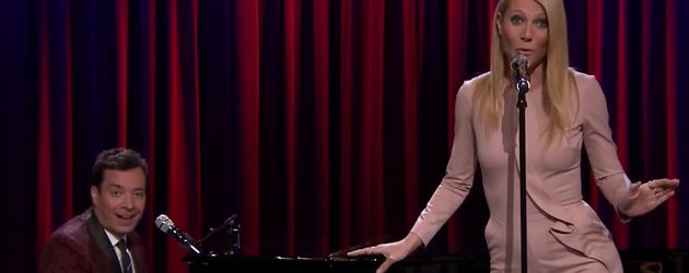 Gwyneth Paltrow und Jimmy Fallon