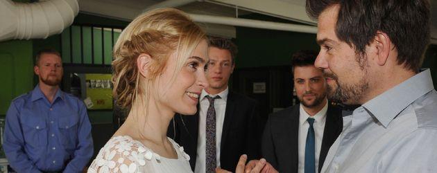 Daniel Fehlow und Lea Marlen Woitack
