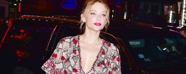 Haley Bennett in New York