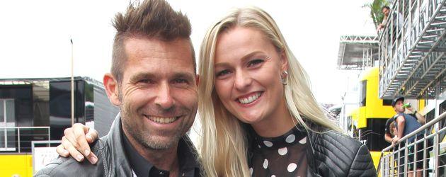 """Hannes Arch und Miriam Höller beim """"Formel 1-Rennen"""" in Österreich im Juli 2016"""