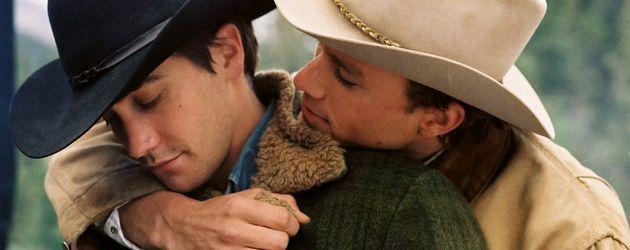 "Jake Gyllenhaal mit Heath Ledger in ""Brokeback Mountain"""